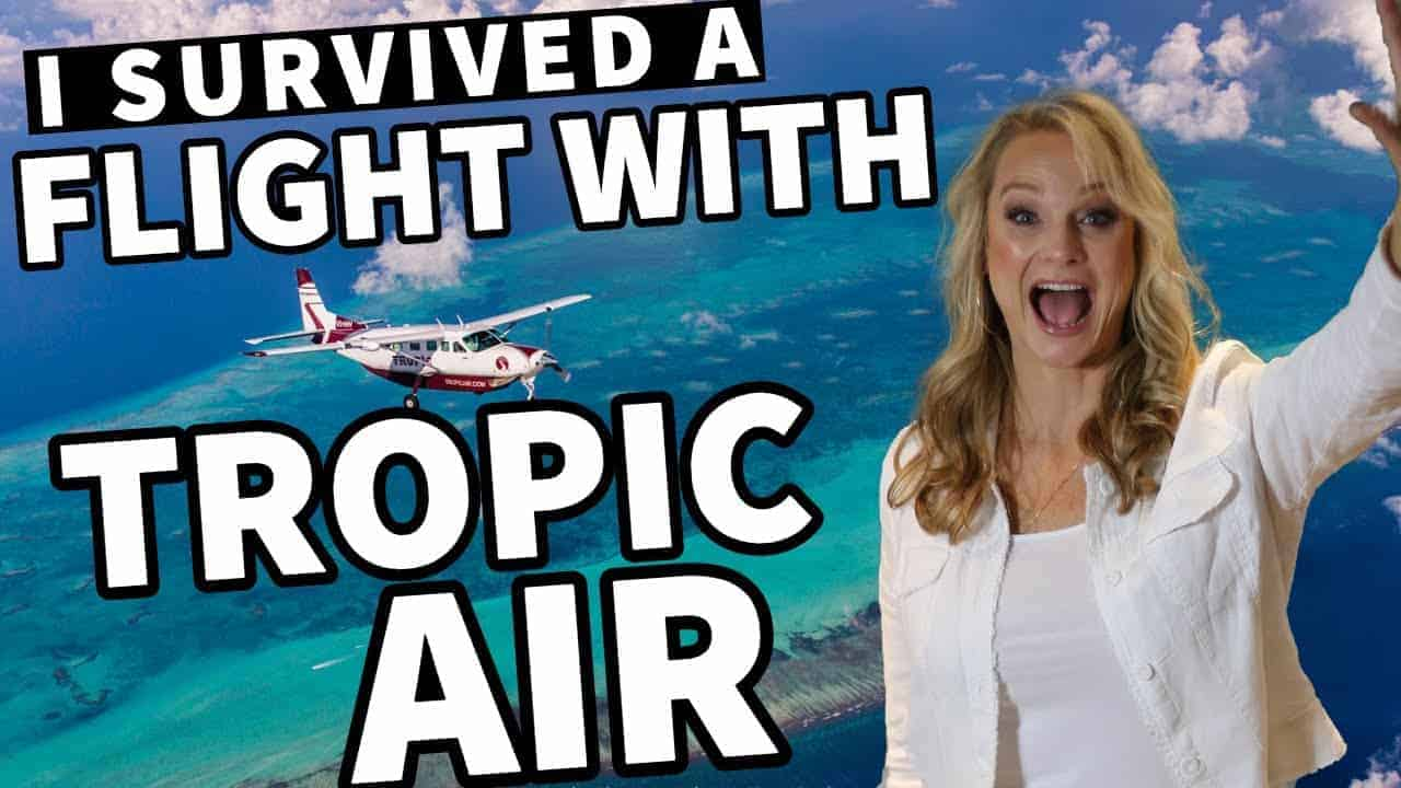 FLYING WITH TROPIC AIR OUT OF BELIZE CITY AIRPORT