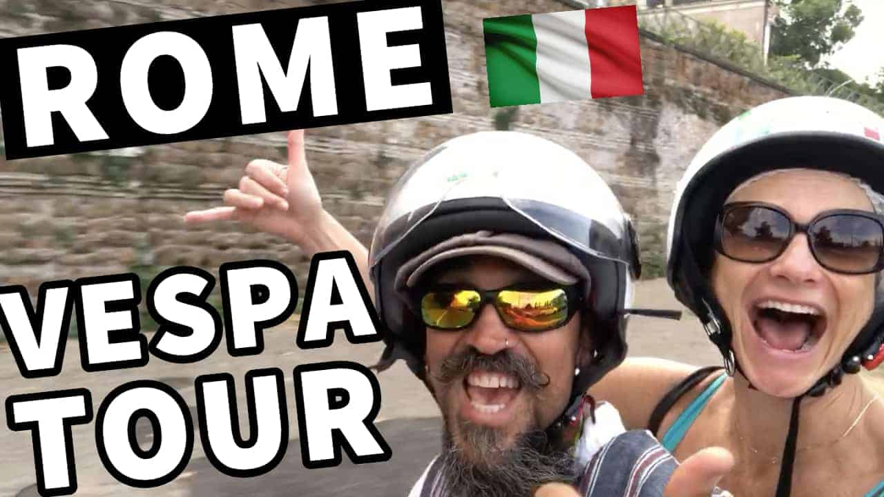 VESPA TOUR OF ROME ~ EVERYTHING YOU NEED TO KNOW